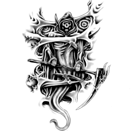 Wzór Tatuażu Kostucha Monika Wypożyczalnia Sprzętu